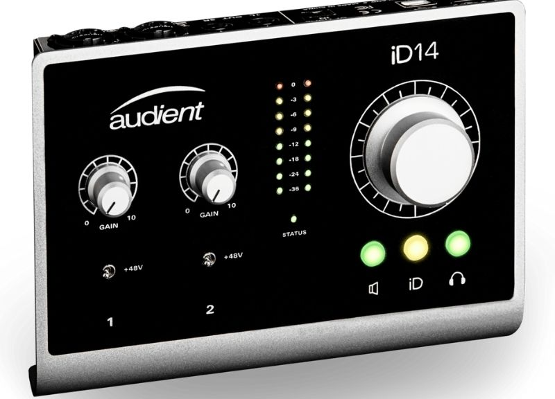 iD14 | Audio Interface 10in/4out