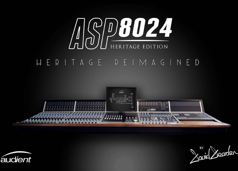 ASP 8024-HE | Large Format Analogue Recording Console