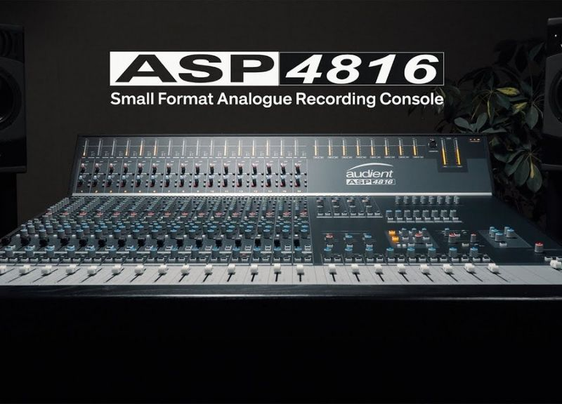 ASP4816 | Small Format Analogue Recording Console