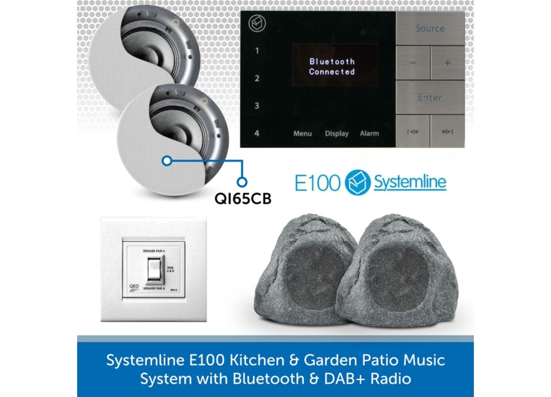 E100 | Single Room DAB, Bluetooth & TV Audio System