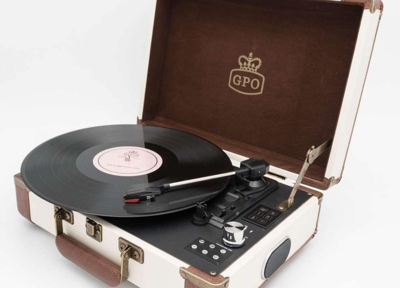 Ambassador Bluetooth Record Player