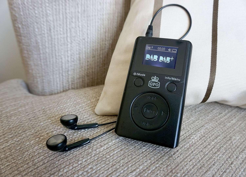 Portable DAB Radio